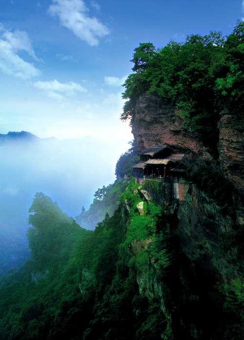 wudang-cliff
