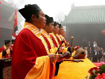 chanting-daoists