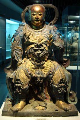 zhenwu-statue